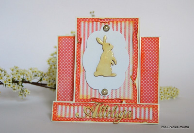 Chipboard - Bunny set of 4 pieces