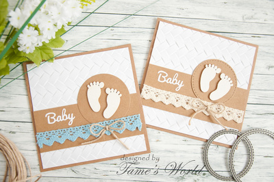 Chipboard - Baby foot 2 pieces
