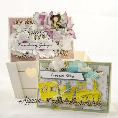 Chipboard - Balloons - 2 pieces
