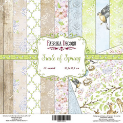 Scrapbooking Blok - Smile of Spring 30,5 x 30,5 cm