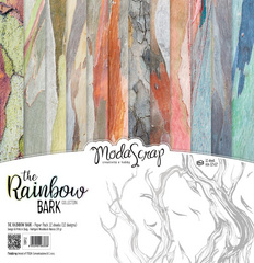 Scrapbooking Blok - The rainbow bark 30,5 x 30,5 cm