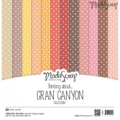 Scrapbooking Blok - Thinking About Gran Canyon 30,5 x 30,5 cm