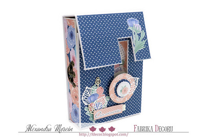 Scrapbooking Blok - Flower Mood 20 x 20 cm
