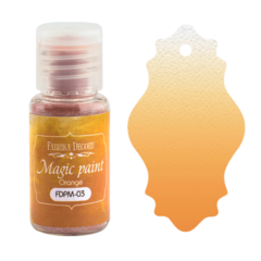Suha barva - Magic Paint - Orange - 15 ml