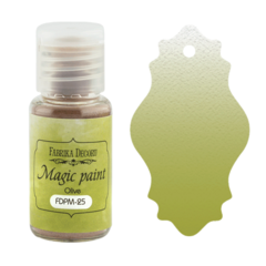 Suha barva - Magic Paint - Olive - 15 ml