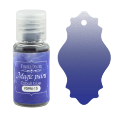 Suha barva - Magic Paint - Cobalt Blue - 15 ml