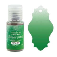 Suha barva - Magic Paint - Emerald Green - 15 ml