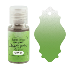 Suha barva - Magic Paint - Pale Green - 15 ml
