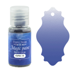 Suha barva - Magic Paint - Berlin Blue  - 15 ml