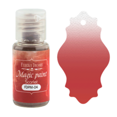 Suha barva - Magic Paint - Scarlett - 15 ml