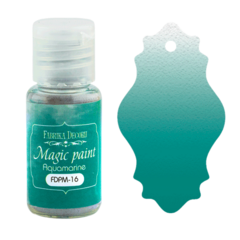 Suha barva - Magic Paint - Aquamarine - 15 ml