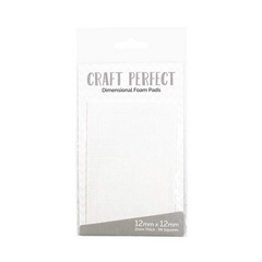 Craft Perfect - Adhesives - Dimensional Foam Pads - 12mm (69 pads)