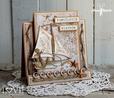 Scrapbooking Papir - Be with me 02 - 30,5 x 30,5 cm