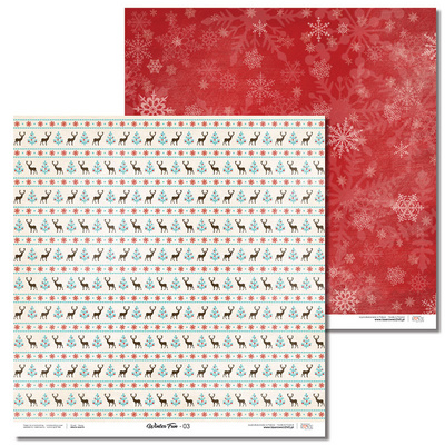 Scrapbooking Blok - Winter Fun 30,5 x 30,5 cm