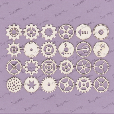 Chipboard - Gears Set