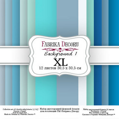 Scrapbooking Blok - Backgrounds 1 XL 30,5 x 30,5 cm
