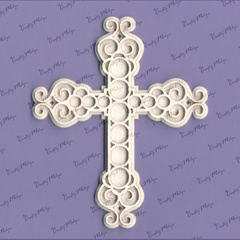 Chipboard - Cross 3 2D - 2 layers