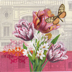 Decoupage napkin - Collage Provence 3 - 33 x 33 cm