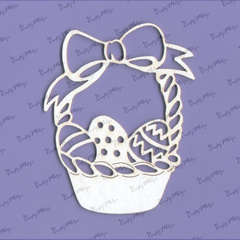 Chipboard - Easter Basket