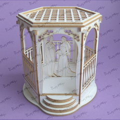 Chipboard - 3D Wedding Gazebo