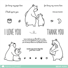 Bear Hugs - Stamp Set