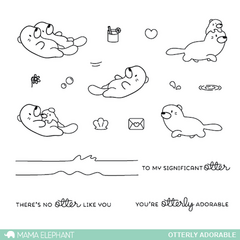 Otterly Adorable - Stamp Set