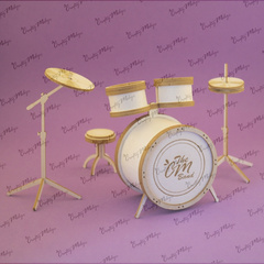 Chipboard - 3D Drums