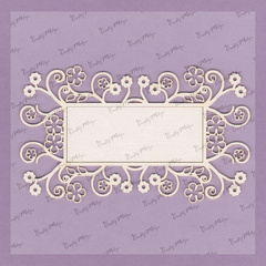 Chipboard - Decorative Frame 3