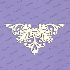Chipboard Izrezki - Kotni Ornament Majestic 2