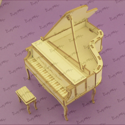 Chipboard - 3D Piano