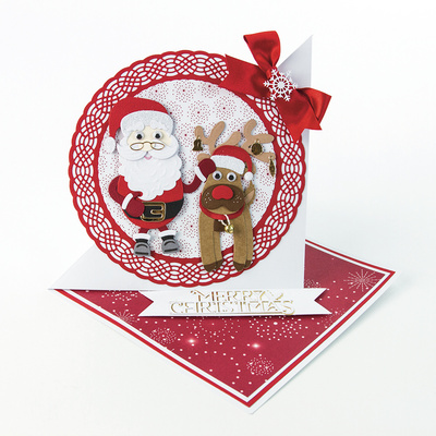 Rezalna Šablona - Christmas Buildables - Mr & Mrs Claus