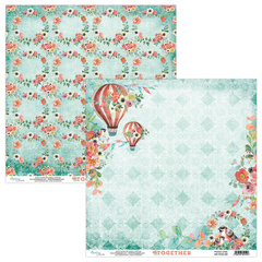 Scrapbooking papir - Kolekcija Together 02 - 30,5 x 30,5 cm