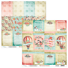 Scrapbooking papir - Kolekcija Together 06 - 30,5 x 30,5 cm