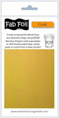 WOW Fab Folija - Bright Gold