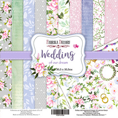 Scrapbooking Blok - Wedding of our dream 30,5 x 30,5 cm
