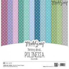 Scrapbooking Blok - Thinking About Polinesia 30,5 x 30,5 cm