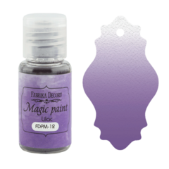 Suha barva - Magic Paint - Lilac - 15 ml