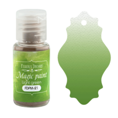 Suha barva - Magic Paint - Light Green - 15 ml