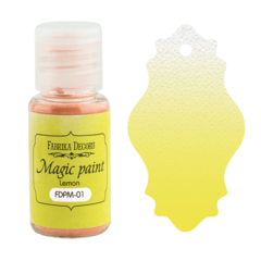 Suha barva - Magic Paint - Lemon - 15 ml