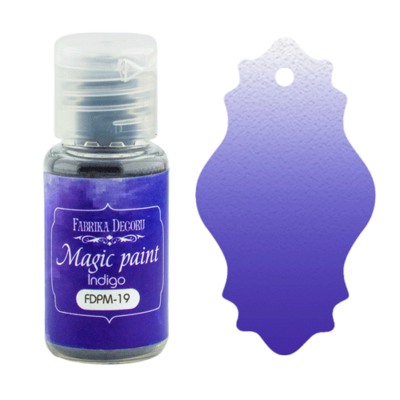 Suha barva - Magic Paint - Indigo - 15 ml