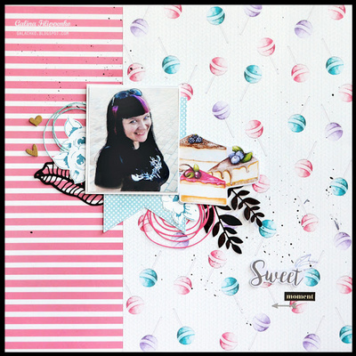 Scrapbooking Blok - Candy Shop 20 x 20 cm