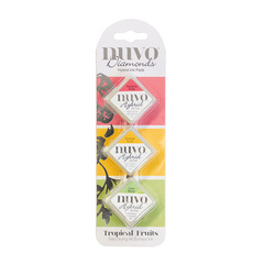 Nuvo - Diamond Hybrid Ink Pads - Tropical Fruits