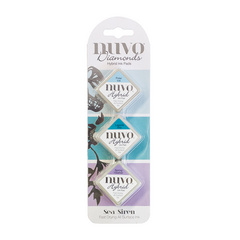 Nuvo - Diamond Hybrid Ink Pads - Sea Siren