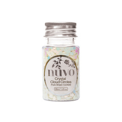 Nuvo - Confetti - Crystal Cloud Circles - 35ml Bottle - 1064n