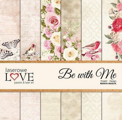 Scrapbooking Blok - Be with me 30,5 x 30,5 cm