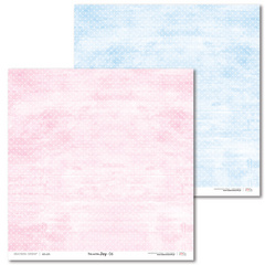 Scrapbooking Papir - Pink and blue JOY 06 - 30,5 x 30,5 cm