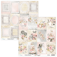 Scrapbooking papir - Marry me 06 - 30,5 x 30,5 cm