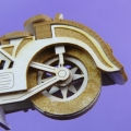 Chipboard Izrezki - 3D Motor Chopper