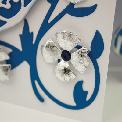 Nuvo Gilding Flakes - Silver Button